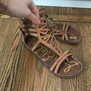 Sam Edelman leather gladiator sandals